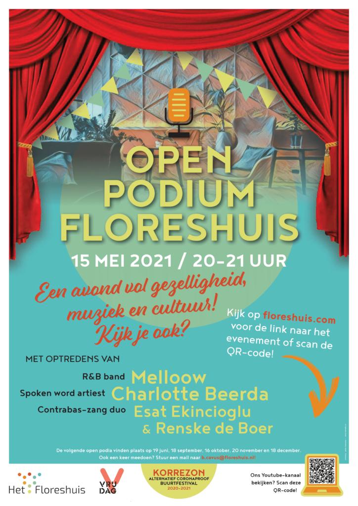 Floreshuis Open Podium